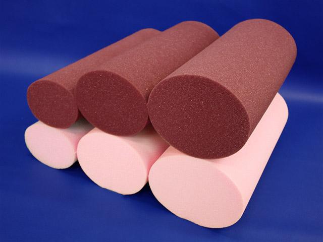 Pillow Oval Bolsters Memory Foam Support For Leg Back