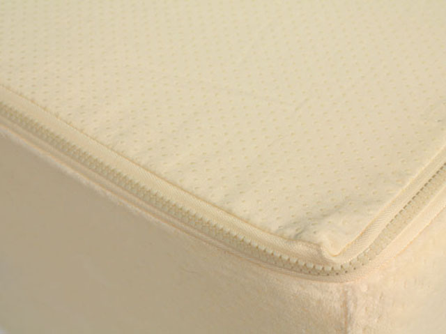 Zippered Terry Cloth Foam Mattress Cover Terry Cloth Cover